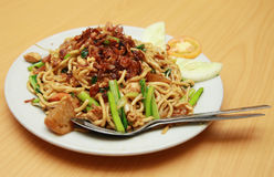 Asian fried noodle Royalty Free Stock Photography
