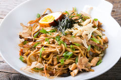 Asian fried noodles Stock Photo