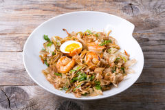 Asian fried noodles Royalty Free Stock Photos