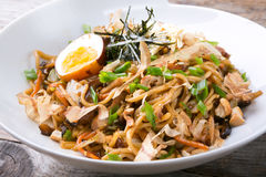 Asian fried noodles Royalty Free Stock Image