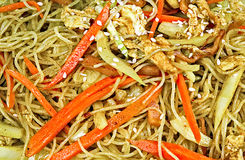 Asian Fried Rice Vermicelli Royalty Free Stock Image