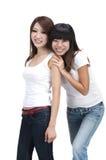 Asian friend Royalty Free Stock Photos