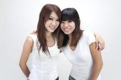 Asian friends Stock Photos