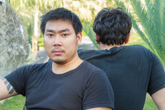 Asian Friends Stock Image
