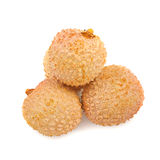 Asian fruit lichee isolated Stock Photography