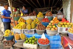 Asian fruit market Stock Photos