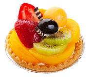 Asian Fruit Tart Stock Image