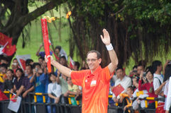 Asian Games torch relay in zhuhai Royalty Free Stock Photos