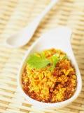 Asian garlic sauce Royalty Free Stock Photo