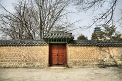 Asian Gate Stock Images