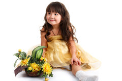 Asian girl. Royalty Free Stock Photography