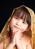Asian girl. Royalty Free Stock Images