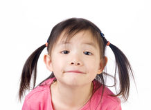 Asian Girl. A young asian girl. Youth, childhood, growing up Royalty Free Stock Images