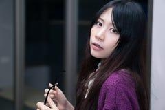 Asian girl in casual wear Stock Photo