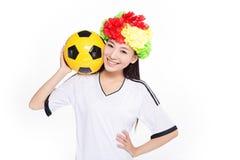Asian girl cheerleader, chinese Royalty Free Stock Photography