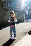 Asian girl child, China