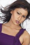 Asian girl closeup Stock Photo