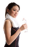 Asian girl exercise Royalty Free Stock Photo