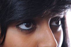 Asian girl eyes Stock Photos