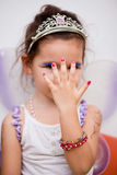 Asian girl in a fairy dress Stock Image