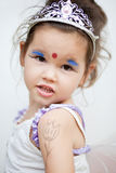 Asian girl in a fairy dress Royalty Free Stock Photo