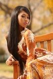 Asian Girl, Fashion. Beautiful young asian girl at fashion photo shoot Stock Photos