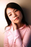 Asian girl feeling tired Stock Images