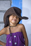 Philippines - Girl Child Model Royalty Free Stock Image