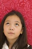 Asian Girl Looking Up Stock Photos