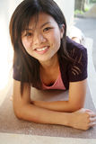 Asian girl looking at viewer Stock Images