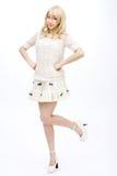 Asian girl model fashion japanese style isolated. Is asian girl model fashion japanese style isolated Royalty Free Stock Image