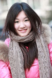 Asian girl outdoor portrait Stock Photo