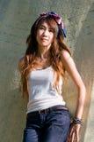 Asian girl portrait. A beautiful asian girl portrait Stock Photography