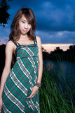 Asian girl portrait Royalty Free Stock Photos