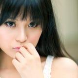 Asian girl portrait Stock Photos