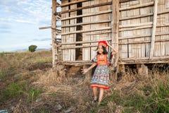 Asian girl posing Royalty Free Stock Images