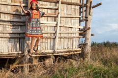 Asian girl posing Stock Photography