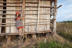 Asian girl posing Royalty Free Stock Photography