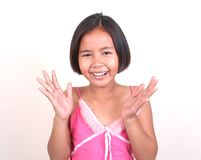 Asian girl (series) Royalty Free Stock Photo