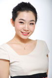 Asian girl smile Royalty Free Stock Photo