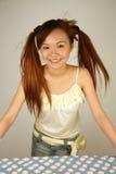 Asian girl smiling Stock Photography