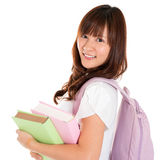 Asian girl student Royalty Free Stock Photography