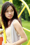 Asian girl in summer Stock Image