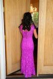 asian girl walking Stock Photos