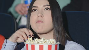 Asian girl worries stock video