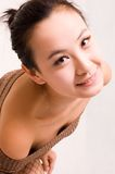 Asian girls. A Pretty asian girls indoor Stock Image
