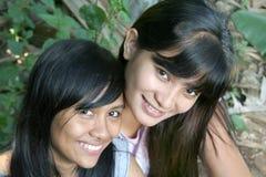 Asian Girls Head Shot Stock Photos