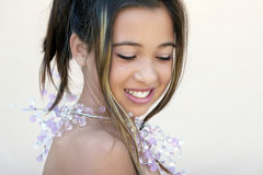 Asian glamor royalty free stock photos