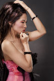 Asian glamour woman Stock Photography