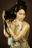 Asian glamour woman Stock Photo